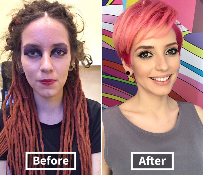 30 Transformations By Belarusian Hair Stylist