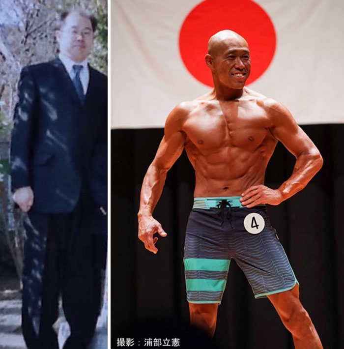 Wife Left This Overweight Middle-Aged Guy But He Decided To Change His Life And Become A Bodybuilder