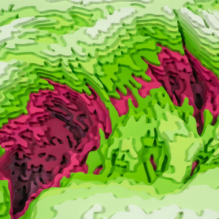I Spent 5 Years Making These Topographic Sculptures, Each With Up To 2500 Individual Pieces
