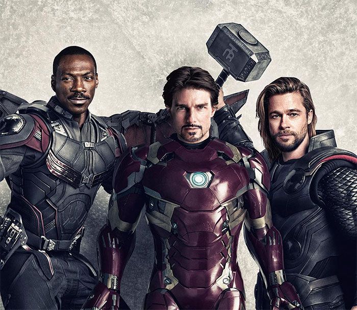 Artist Imagines What Avengers Cast Would Have Looked Like If