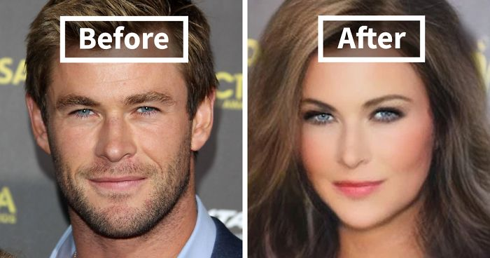 We Used Snapchat's New Genderswap Filter On Marvel Actors And Here