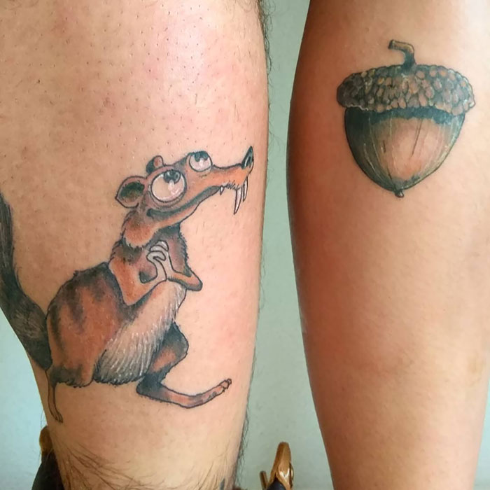 94f56af84b76d 30 Matching Tattoos That Are As Clever As They Are Creative | Bored Panda