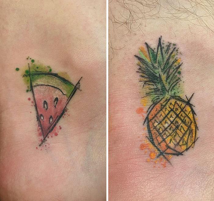 Frutas para una pareja