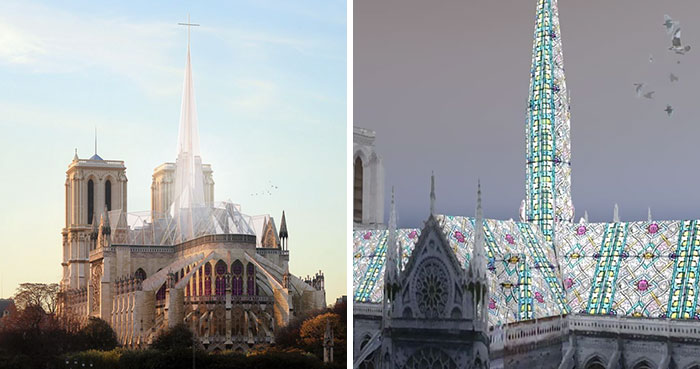 17 Artists Suggest Notre Dame Cathedral Reconstruction Designs