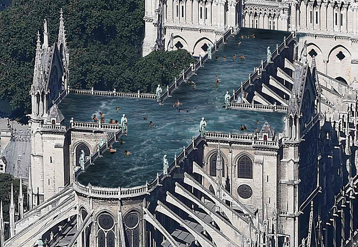 9 Ridiculous Proposals For The Notre Dame Restoration