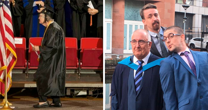 30 Heartwarming Pics Of Elderly Graduates That Show You're Never Too Old To Learn