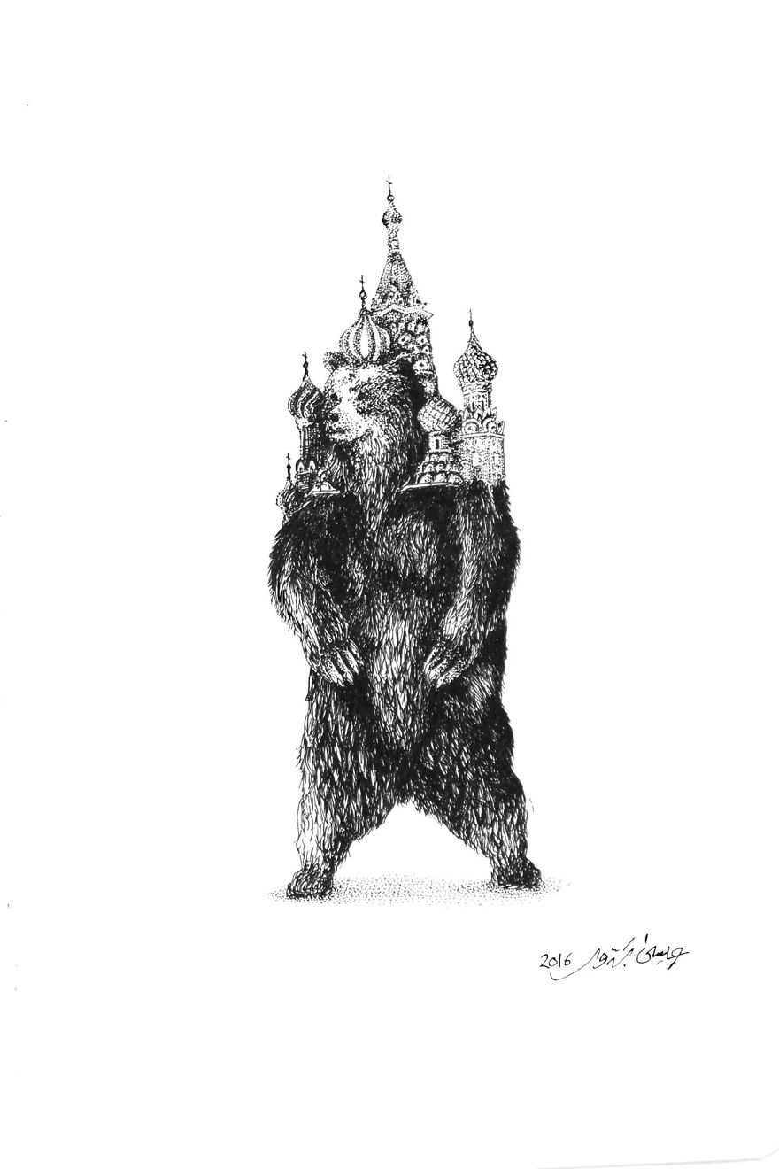 Bear, Russia