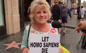 Jimmy Kimmel pregunta a la gente si deberíamos salvar al Homo Sapiens, y las respuestas muestran el nivel de estupidez