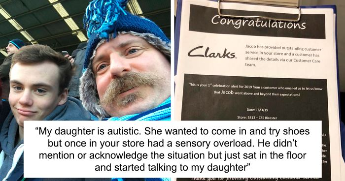 Father Is Stoked To Find A Review About His Son Taking Care Of An