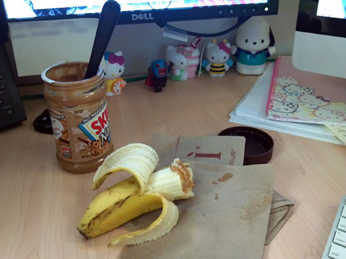 """""""Maybe If I Buy Hello Kitty Stationary Items For My Office Cubicle I'll Be Happy,"""" Says Someone Who Just Eats Peanut Butter At Of The Jar"""