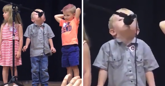 Kid Took Over 'Twinkle Twinkle' Performance To Sing 'The Imperial March' Of 'Star Wars'
