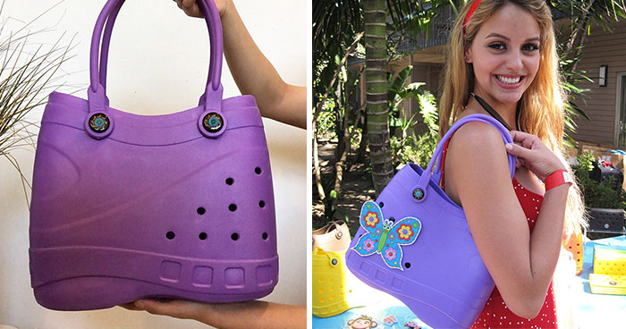 Crocs-Inspired Handbags Are A Thing And People Want Explanations