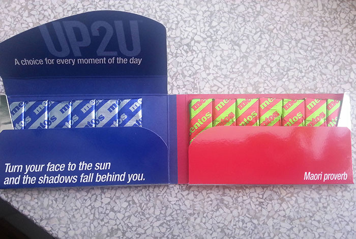Never In My Life Has A Pack Of Gum Motivated Me As Much As This One