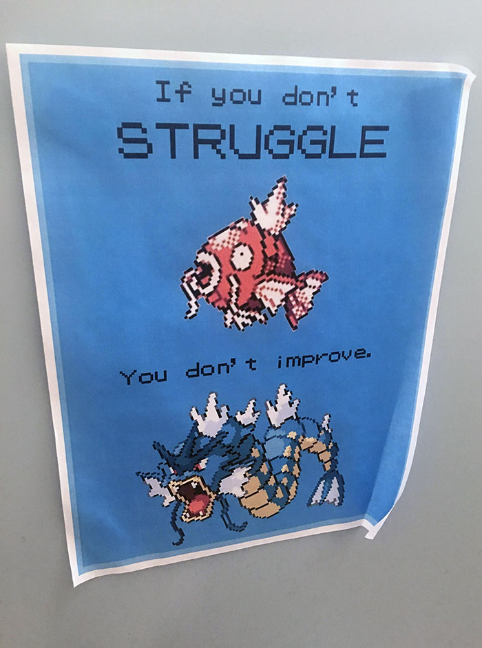 Spotted This Poster While Walking Through Campus