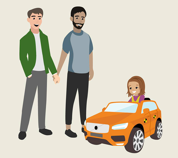 Volvo Announces Their New Policy On Parental Leave, But Many People Aren't Happy With Their Choice Of Illustration