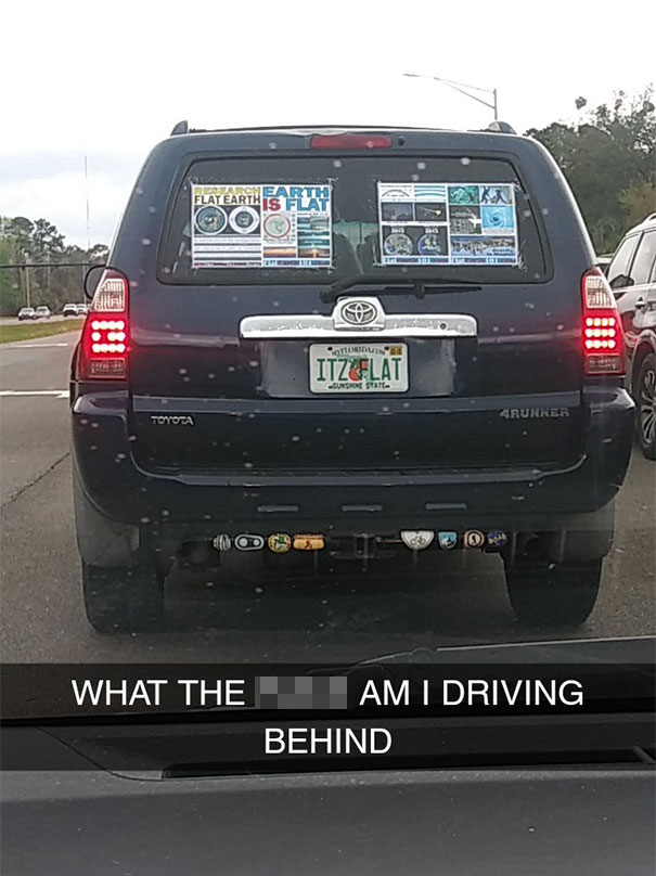 What The Hell Am I Driving Behind?