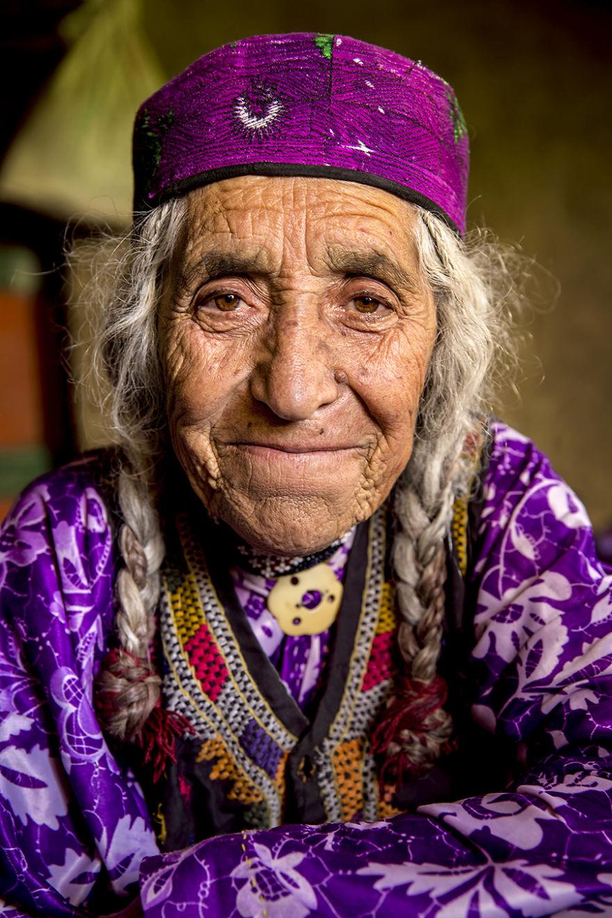 Khik Woman; Wakhan Valley, Badakhshan, Afghanistan