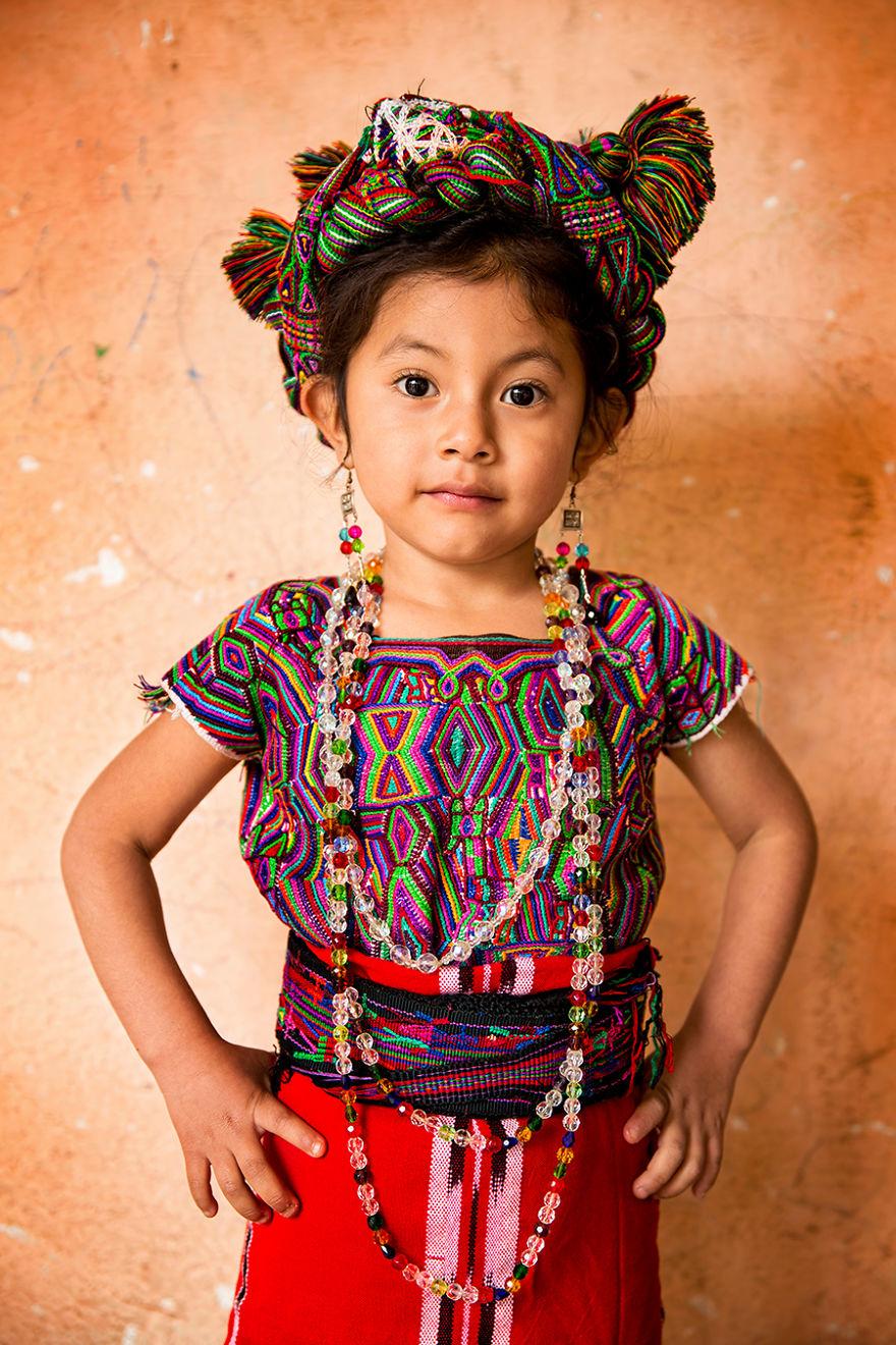 Ixil Girl; Santa Maria Nebaj, El Quiché, Guatemala