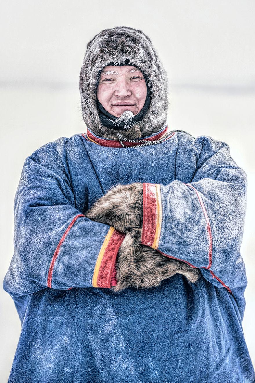 Nenets Man; Tukhard, Taimyr Peninsula, Arctic Siberia