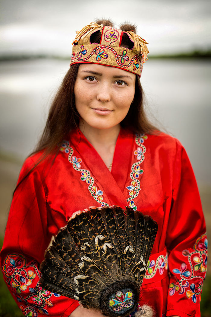Negidal Woman; Amgun River, Far East Of Siberia