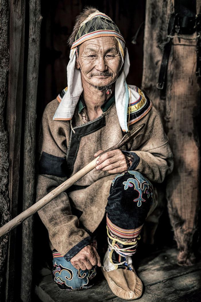 Udege Man; Krasny Yar, Primorie, Far East Of Siberia
