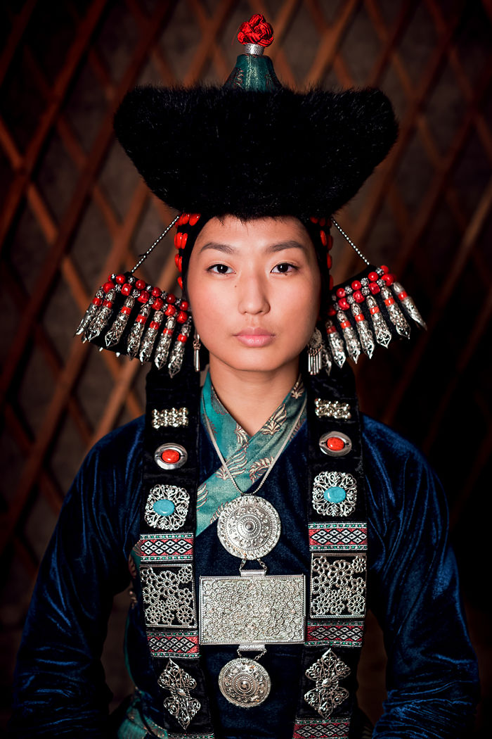 Buryat Woman; Baikal Lake, Buryatia Republic, South East Siberia