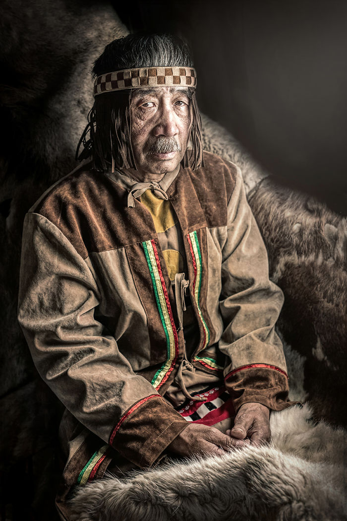 Yukaghir Man; Kolyma River, Sakha Republic, North East Siberia