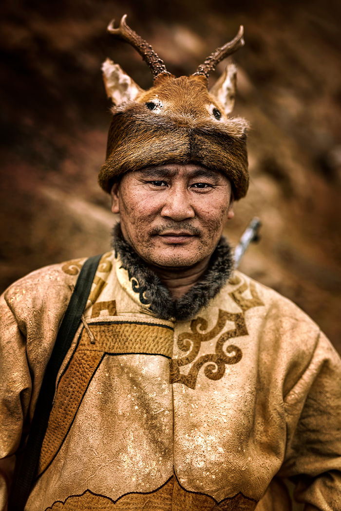 Oroqen Man; Alihe, Inner Mongolia Province, People's Republic Of China