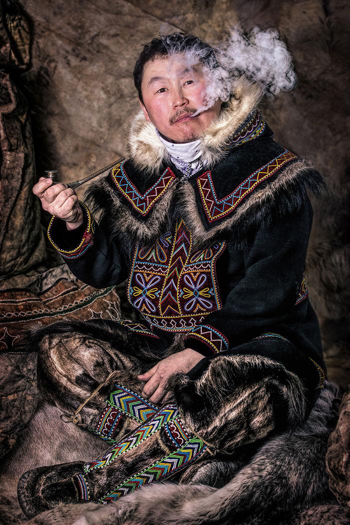 Dolgan Man; Dudinka, Taimyr Peninsula, Arctic Siberia