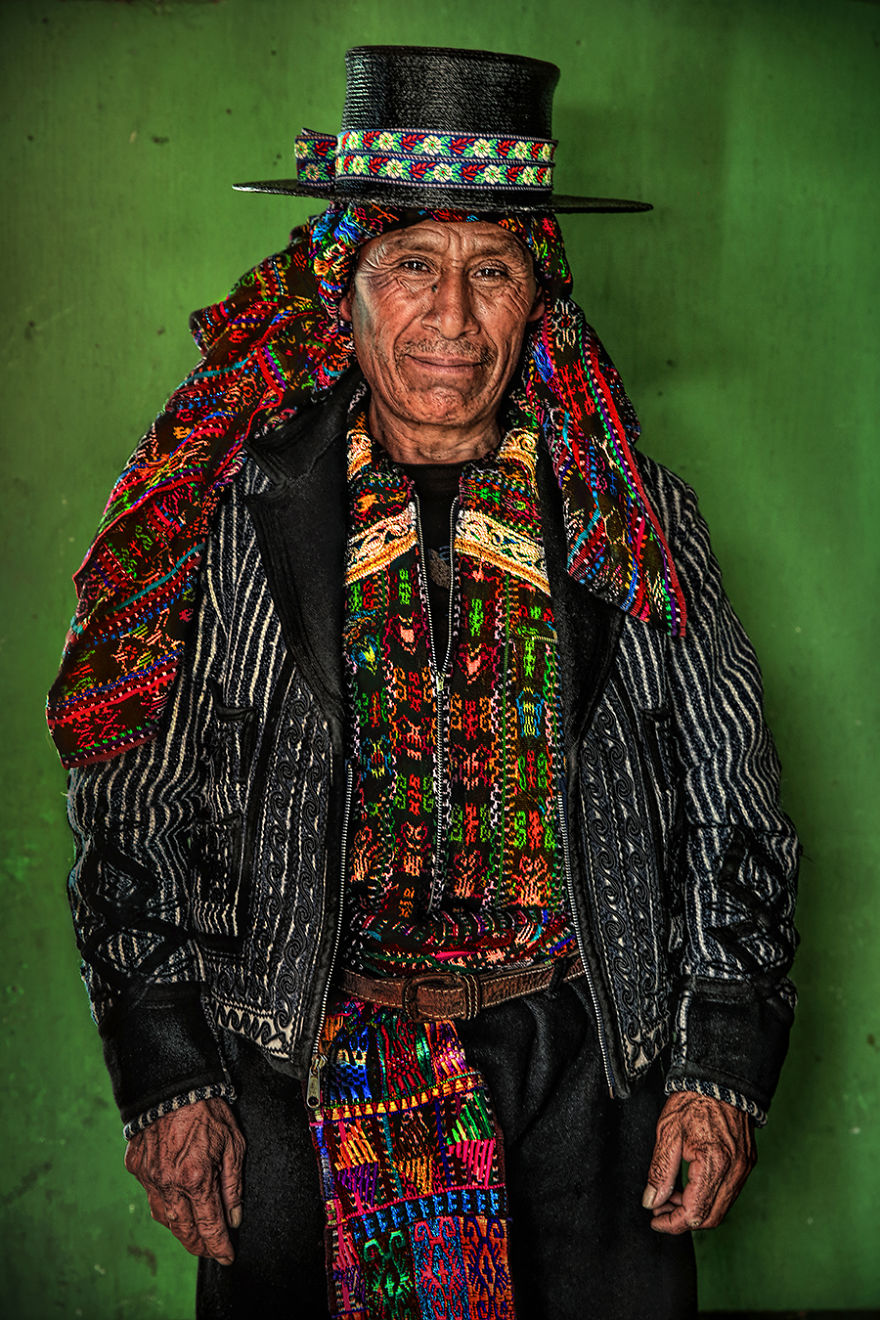Kaqchikel Man; Los Encuentros, Solola, Guatemala