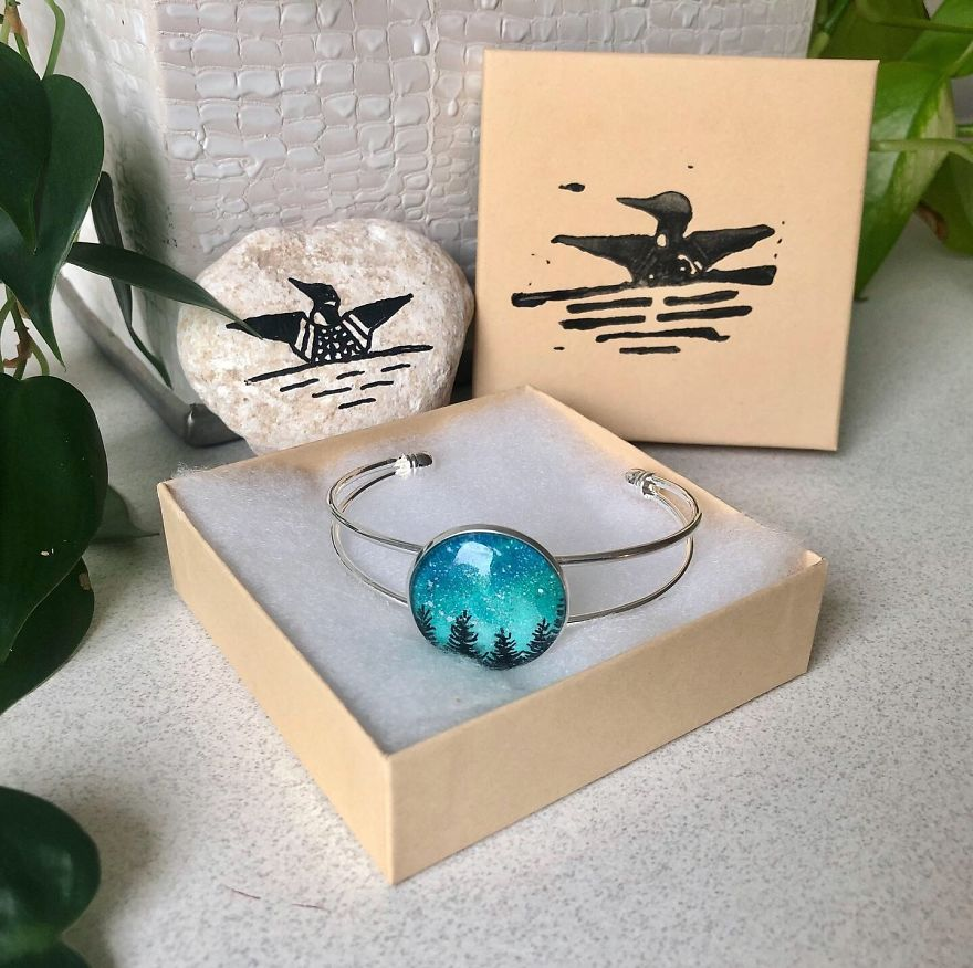 I Make Jewelry Out Of Little Pieces Of Sky
