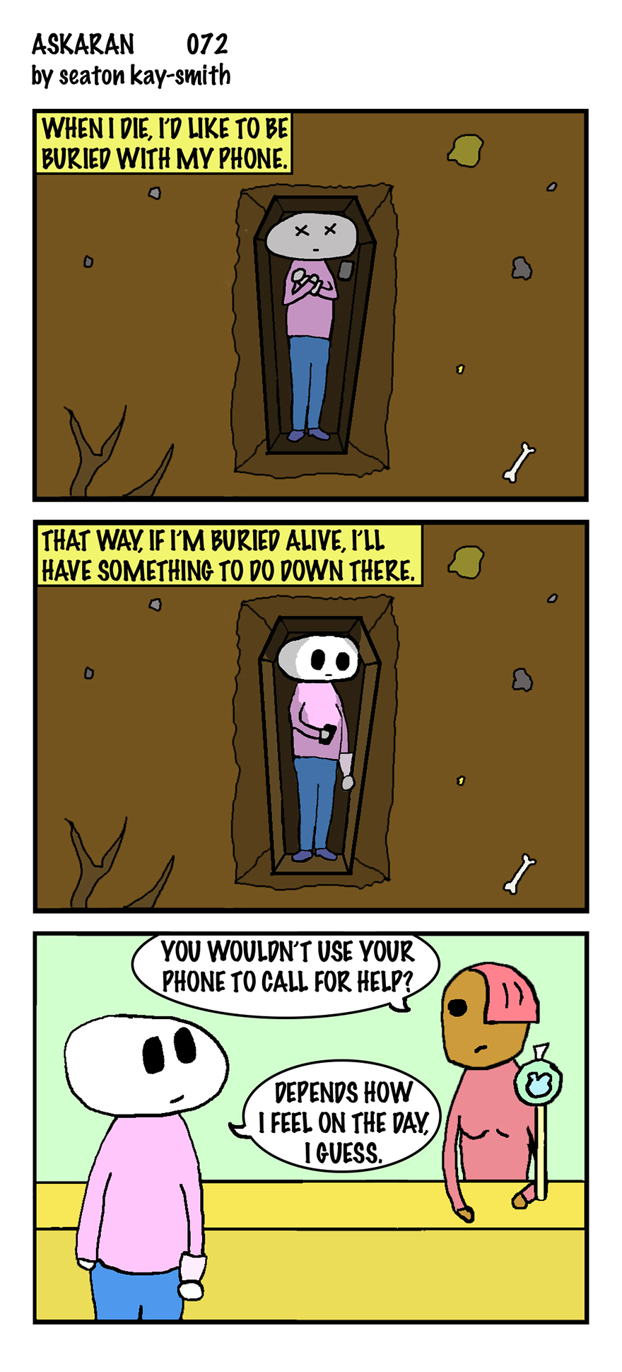 40 Comics About Life And Anxiety And Our Impending Doom