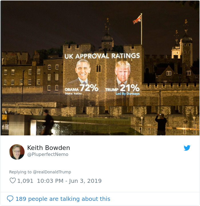 Trump 'Calls Out' London Mayor Over Stabbings In The City, So Someone Compares It To US Statistics