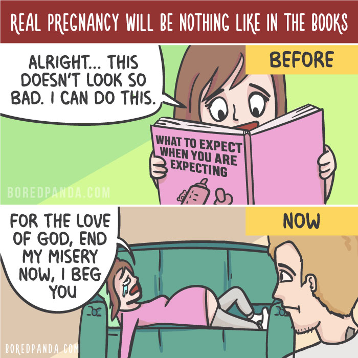 Real Pregnancy Will Be Nothing Like In The Books