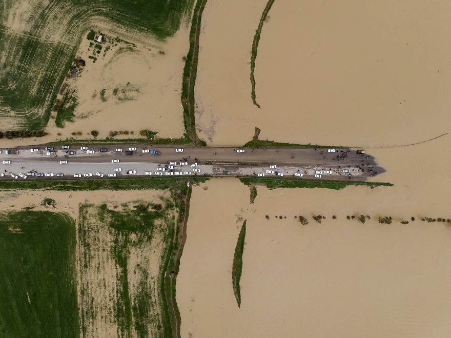 Flood In Northern Iran On New Year