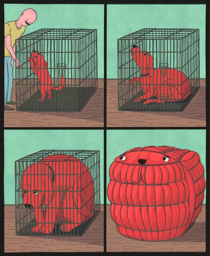 27 Shocking And Scary Comics From An American Artist Whose Ending Is Even Scarier Than The Beginning
