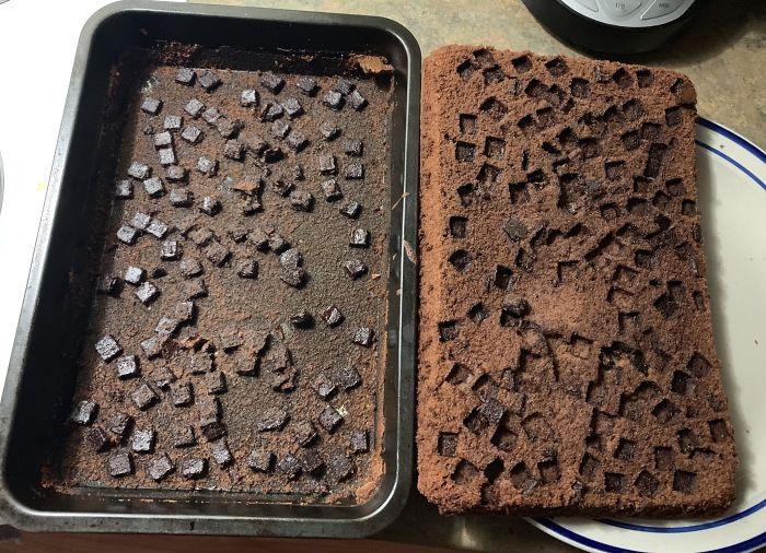 Tried To Make Brownies
