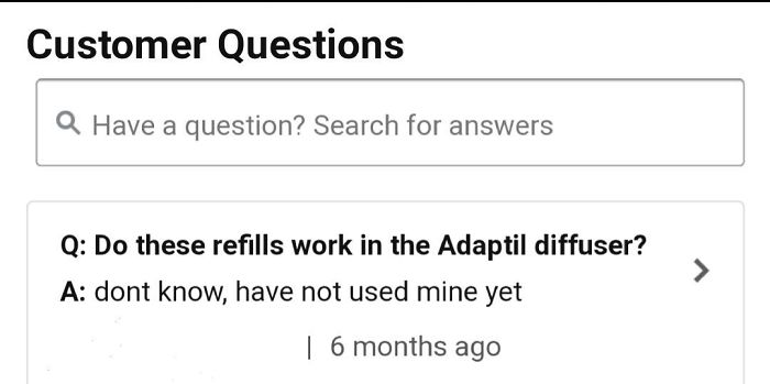When People Answer Amazon Product Questions That They Cannot Answer