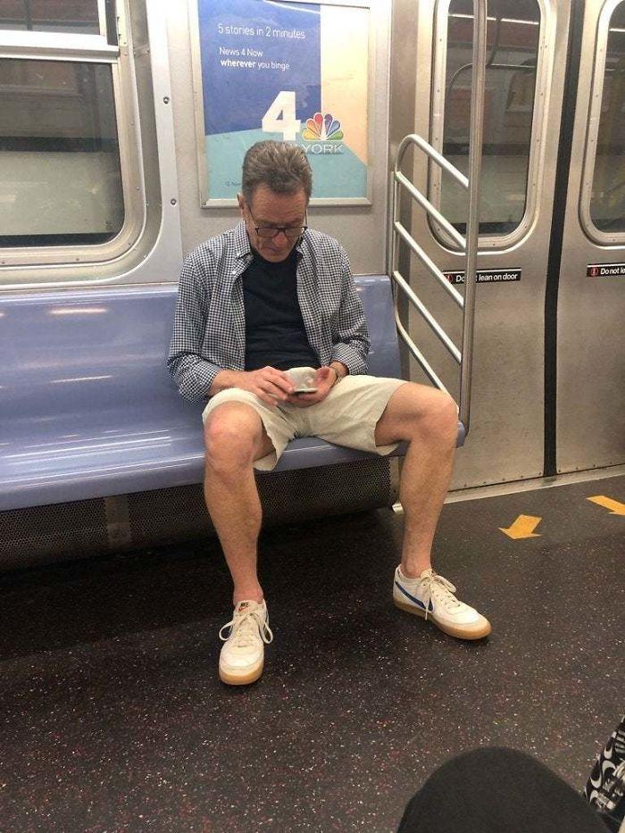 Heisenberg On The Subway