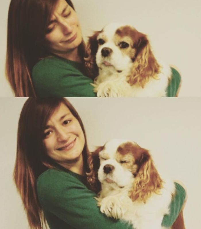 Me And My Late Doggie Derping Together Back In 2015 😂