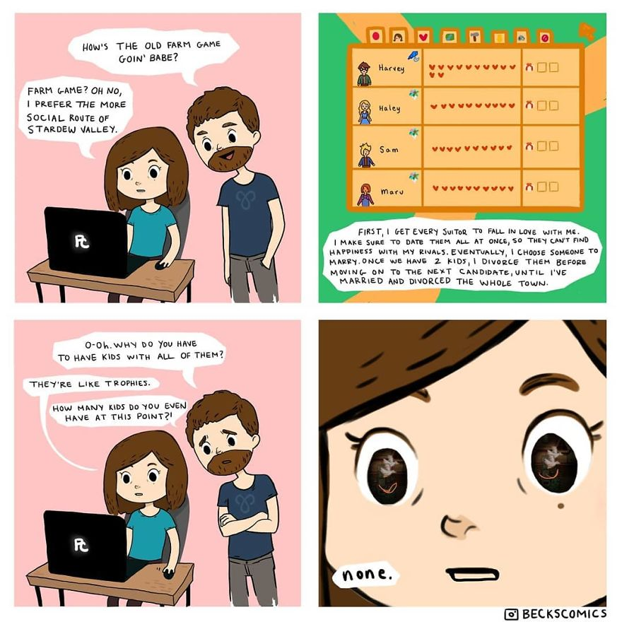 Becks Comics Is Living Her Dream Of Making A Webcomic, Even If It's Not Perfect (17 Comics)