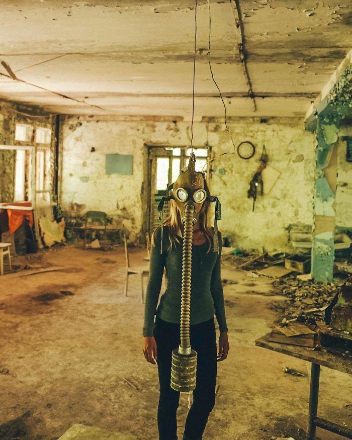 Pripyat, Chernobyl Exclusion Zone, Ukraine
