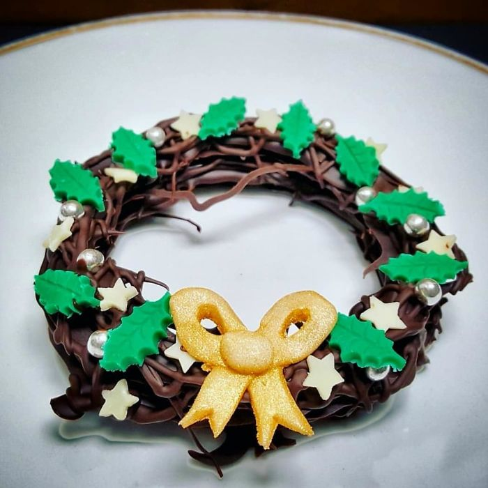 The Chocolate Wreath