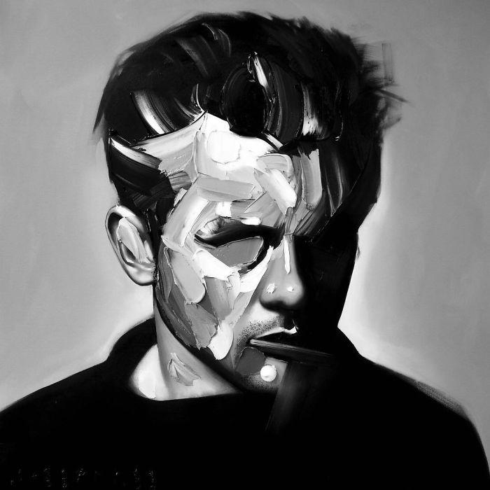 Portrait, James Dean