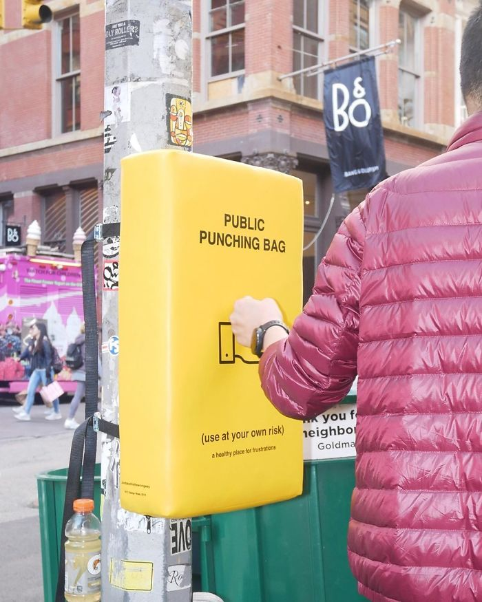People In New York Can Now Let Their Anger Out By Punching