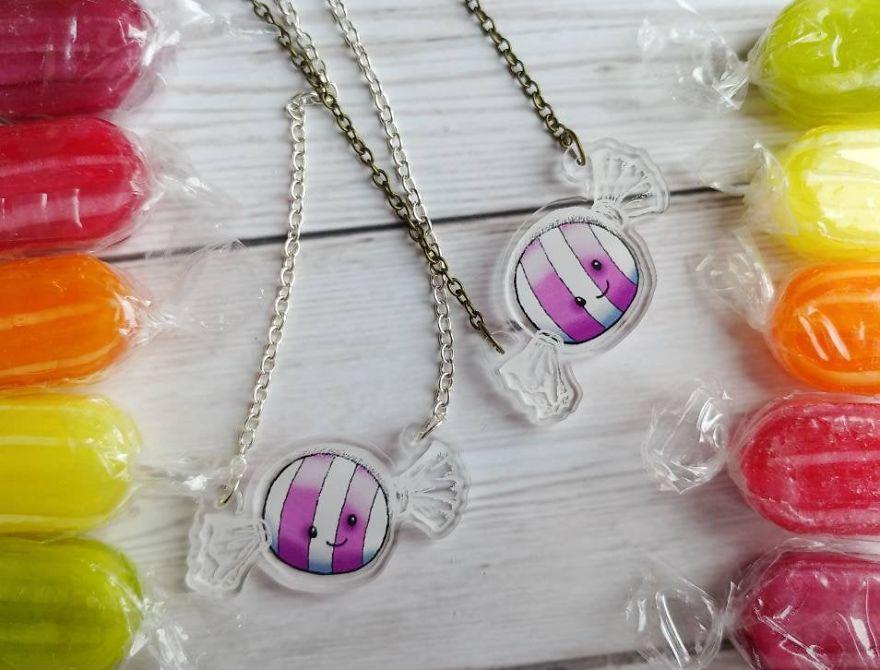 Cute Candy In A Wrapper