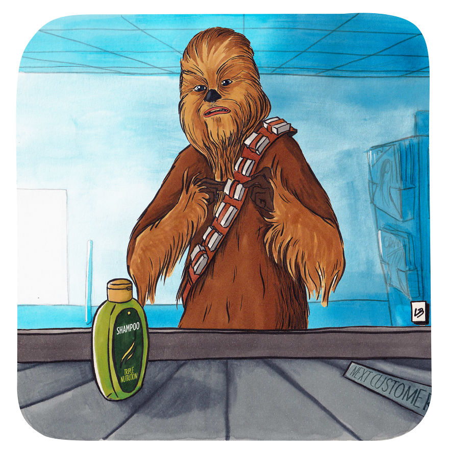Chewbacca And Shampoo