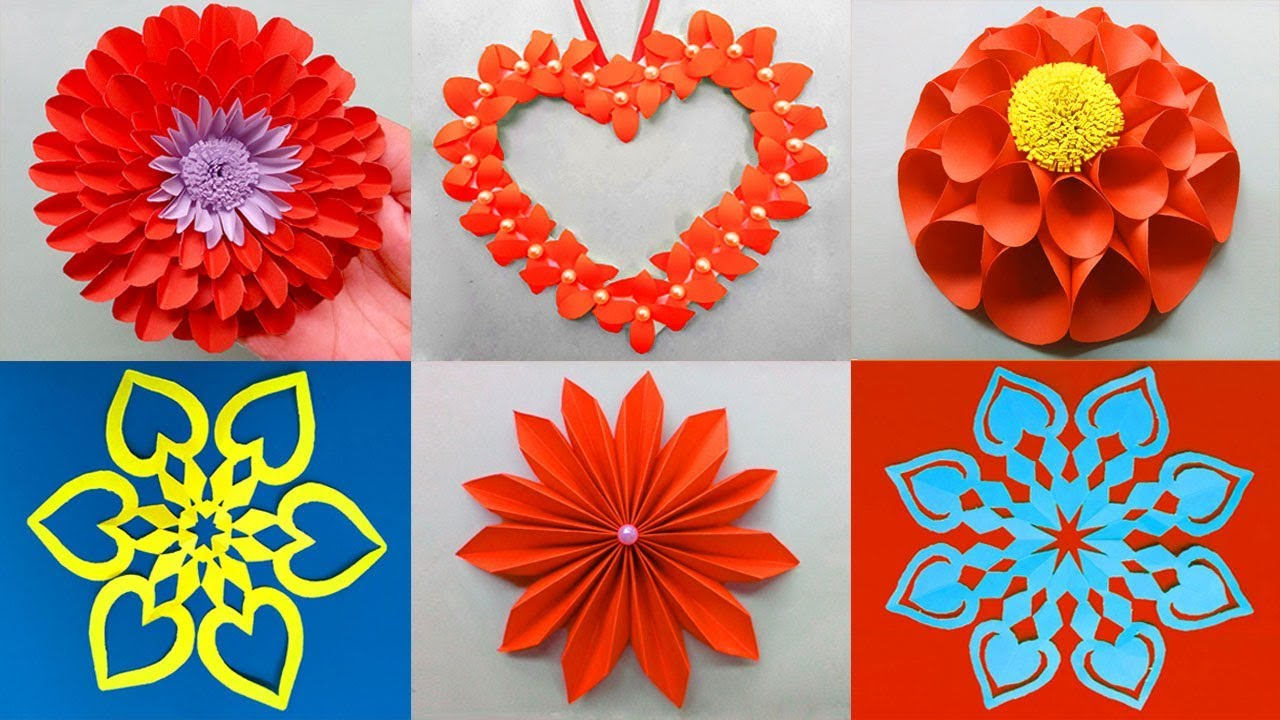 Best 6 Easy Paper Flowers