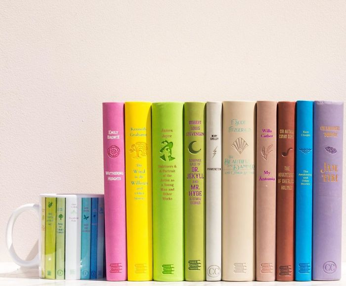 I Take Beautiful Photos Of My Book Collection To Spread Some Joy And Colour