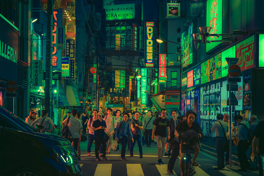 Tokyo In Science Fiction